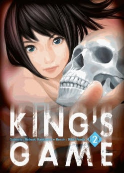 Couverture King's Game, tome 2