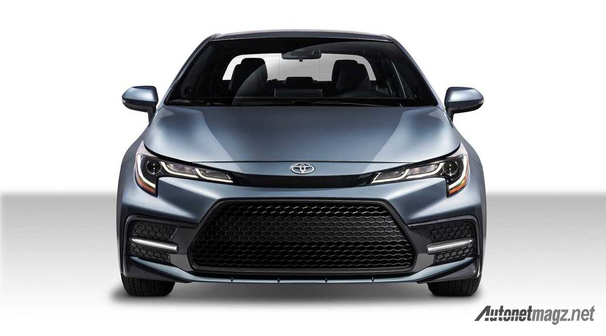 Toyota Corolla Sedan 2019 Anti Konservatif Dengan Tampang Sporty