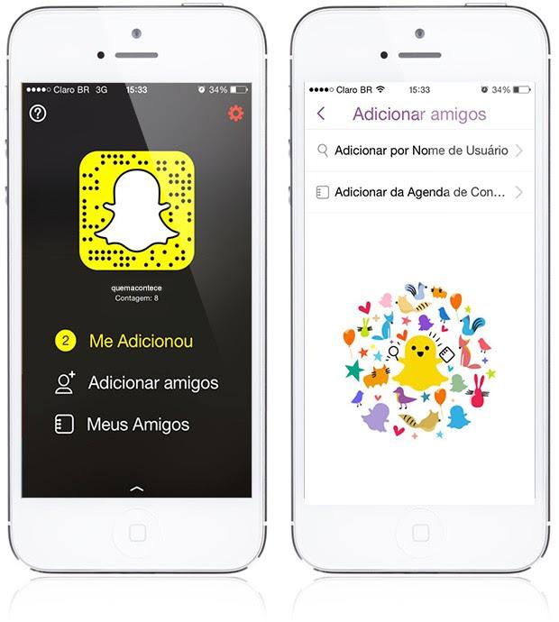 Guia do Snapchat (Foto: QUEM)