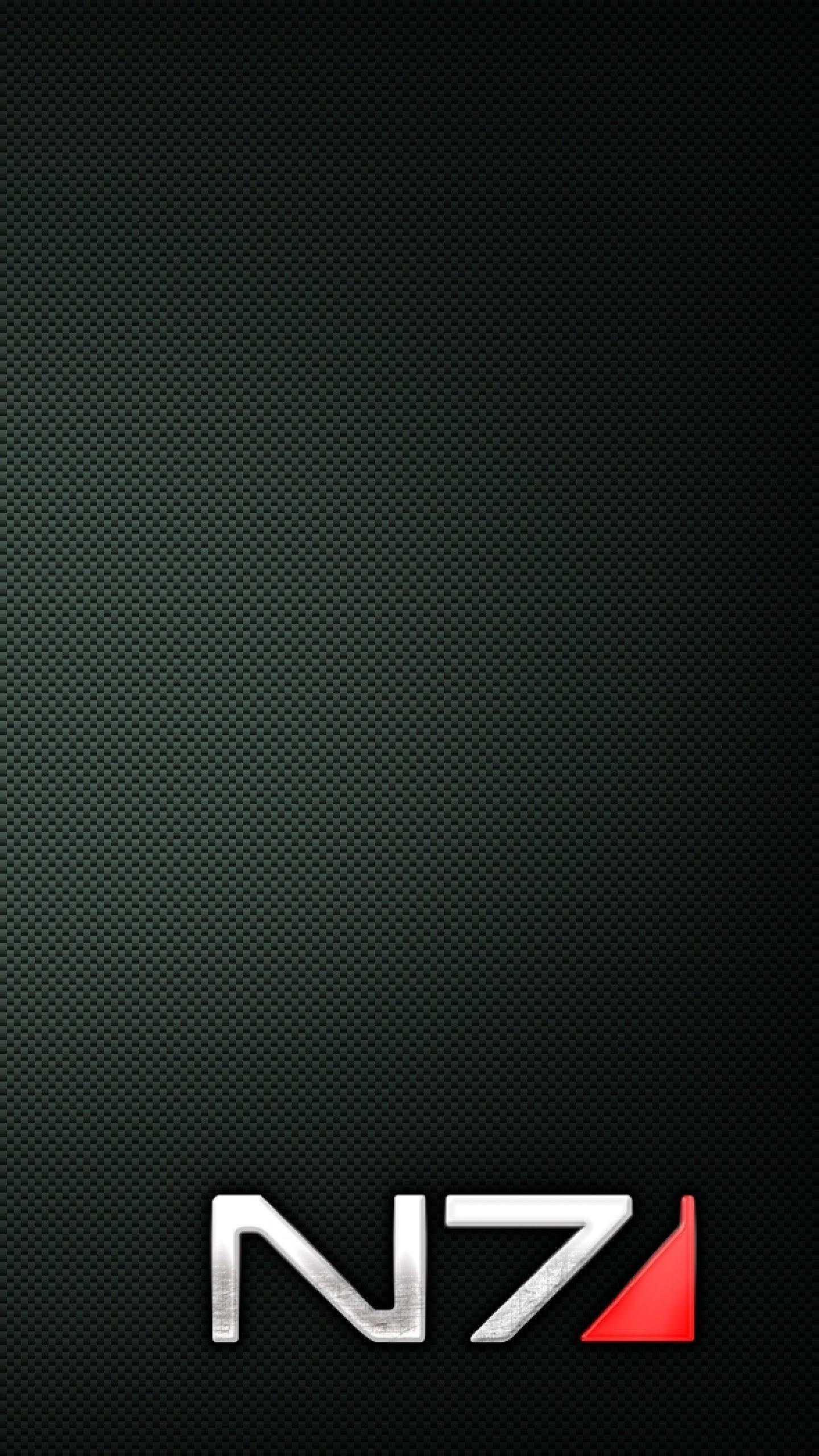 Mass Effect N7 Phone Wallpaper   Biajingan Wall