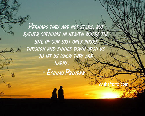 Eskimo Proverb Quote Perhaps They Are Not Stars But Rather