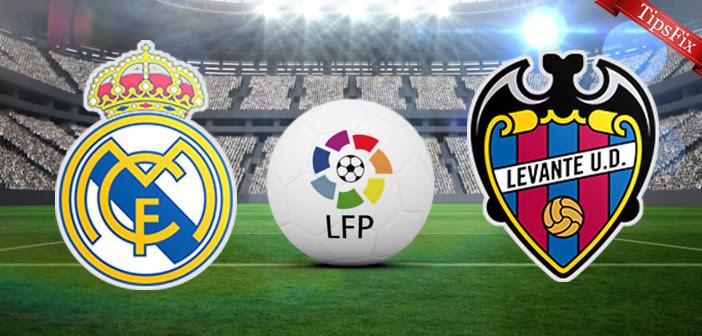 مشاهدة مباراة ريال مدريد و ليفانتي بث مباشر الدوري الإسباني