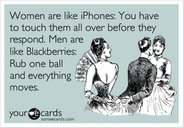 Men Are Like Cellphones Funny Quotes Dump A Day