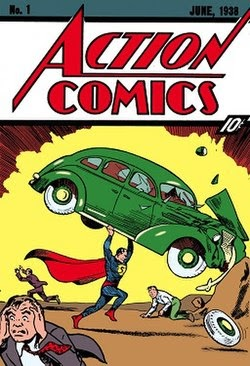 Superman First Appearance Action Comics 1 April 1938