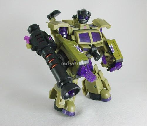 Transformers Swindle Animated Deluxe - modo robot