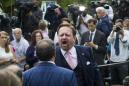 Sebastian Gorka at the center of Rose Garden ruckus following Trump event