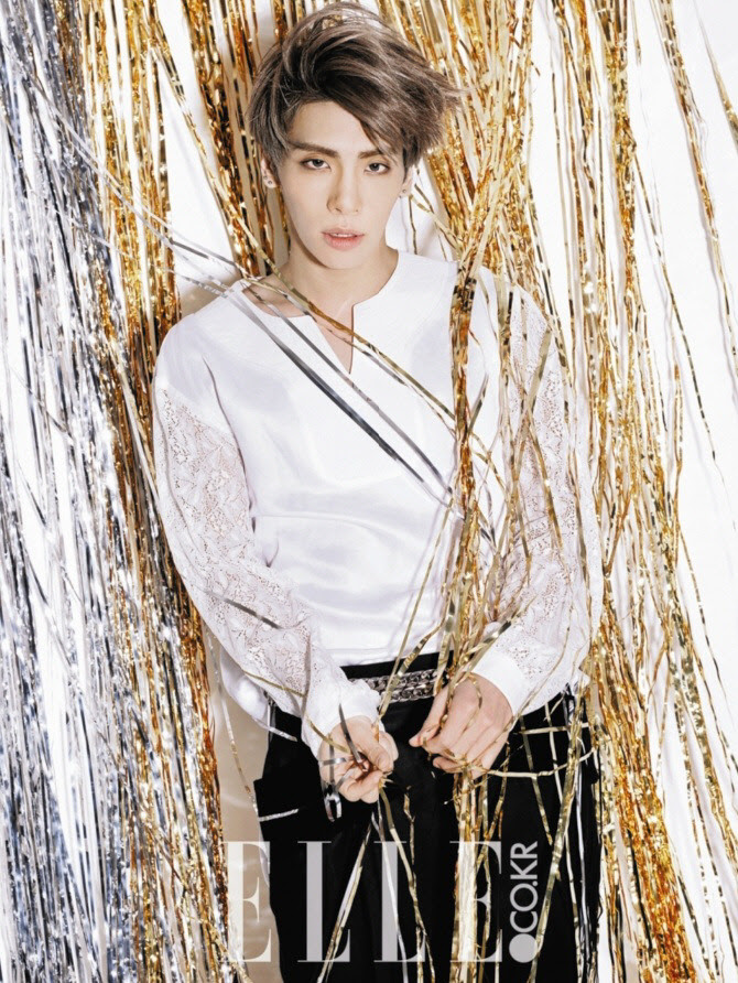 SHINee Jong Hyun - Elle Magazine February Issue '15