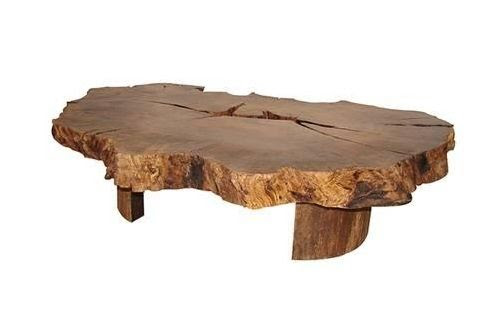 Raw Wood Furniture At The Galleria