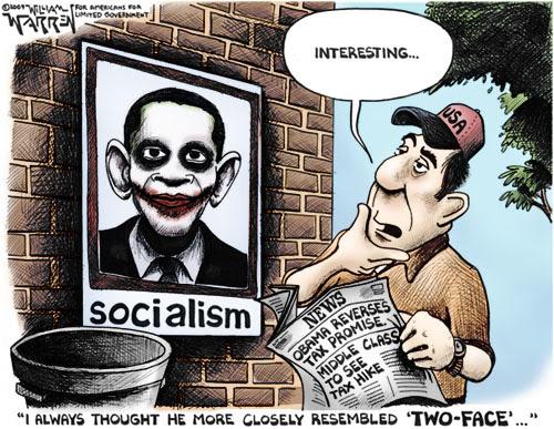 Obama Joker Cartoon