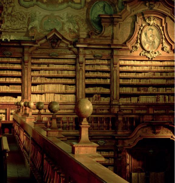 Risultati immagini per biblioteca girolamini napoli