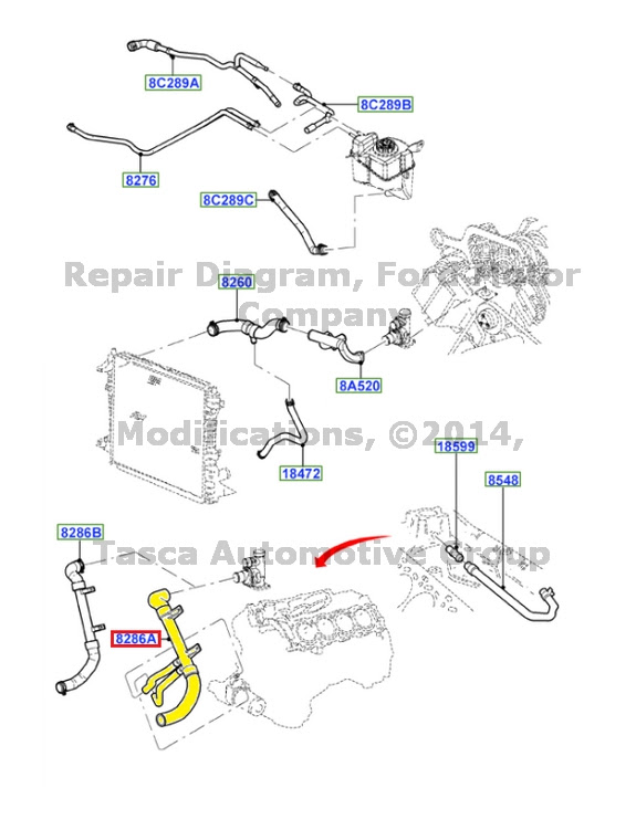 Wiring Diagram Database  2002 Lincoln Ls Cooling System Diagram