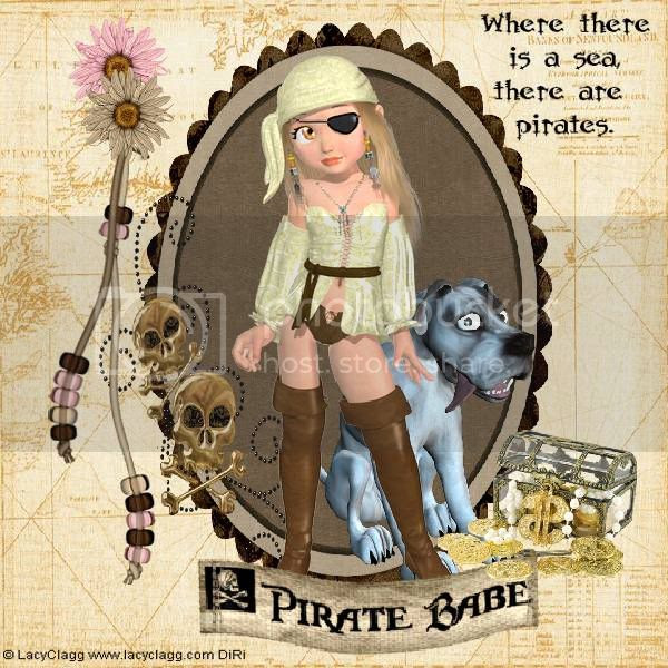 Pirate,Dog,Bonitas