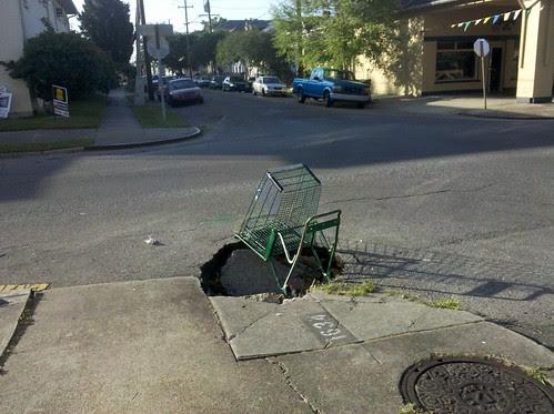 Sinkhole avec cart
