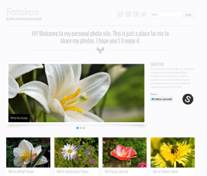 Foto Free WordPress Theme