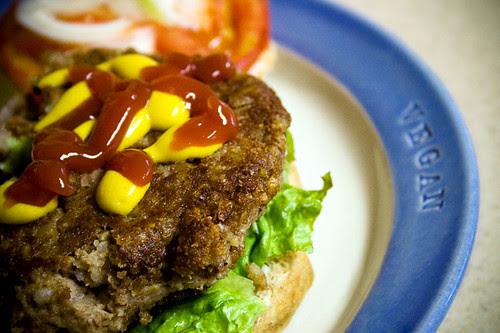 Tempeh Tantrum Burgers