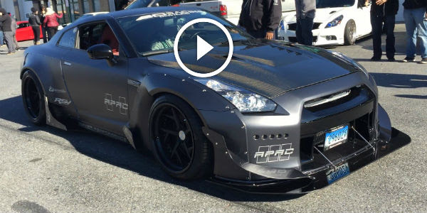 PERFECT MACHINE MADE IN JAPAN Wide Body  Rocket Bunny
