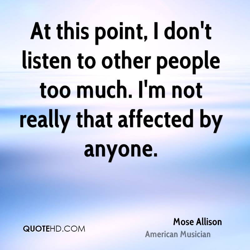 Mose Allison Quotes Quotehd