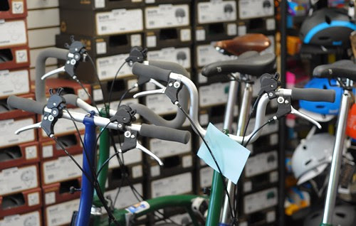 Brompton Handlebars, Harris Cyclery