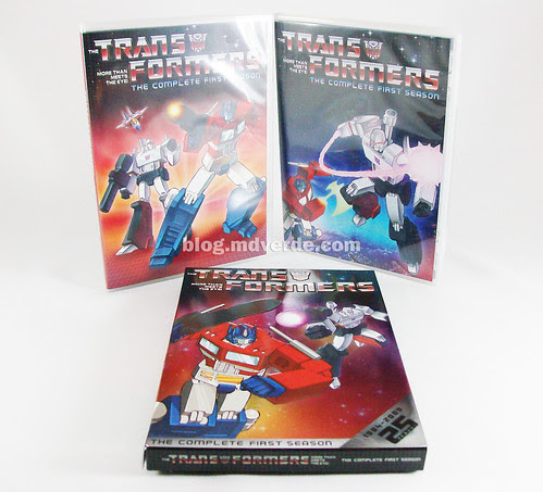 Transformers The complete First Season DVD