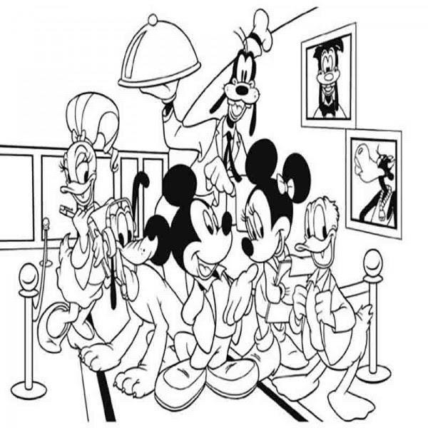 Dibujos Para Colorear De Mickey Mouse Y Sus Amigos Imagesacolorier