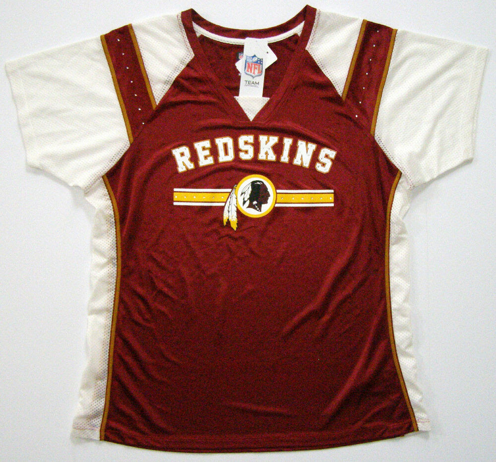 NFL Washington Redskins Womens Draft Me Fashion Bling Jersey Shirt  eBay