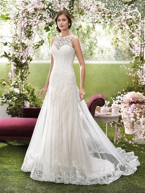 2016 Designer Wedding Dresses by Novia d'Art High Neck