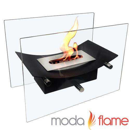 Moda Flame Gf301900bk Cavo Tabletop Ventless Bio Ethanol Fireplace