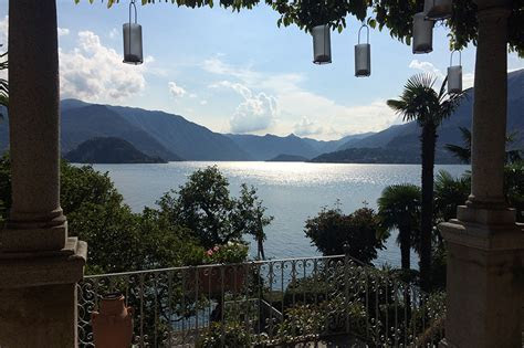 Villa Cipressi Lake Como wedding venue the view from