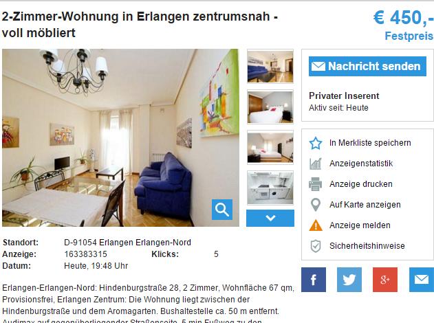 Wohnungen In Erlangen Provisionsfrei