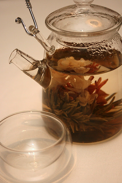 Jing Shang Tian Hua - Morning Blossom Pearl Tea (S$6++ per person)