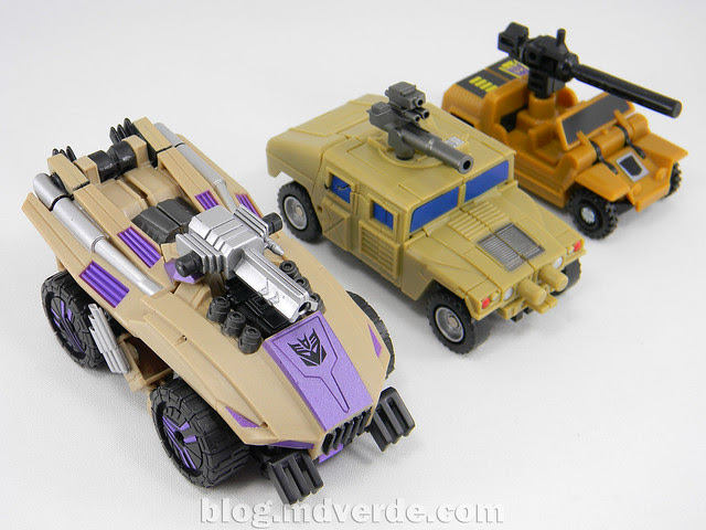 Transformers Swindle Generations Fall of Cybertron - SDCC Exclusive - modo alterno vs G1 vs FansProject