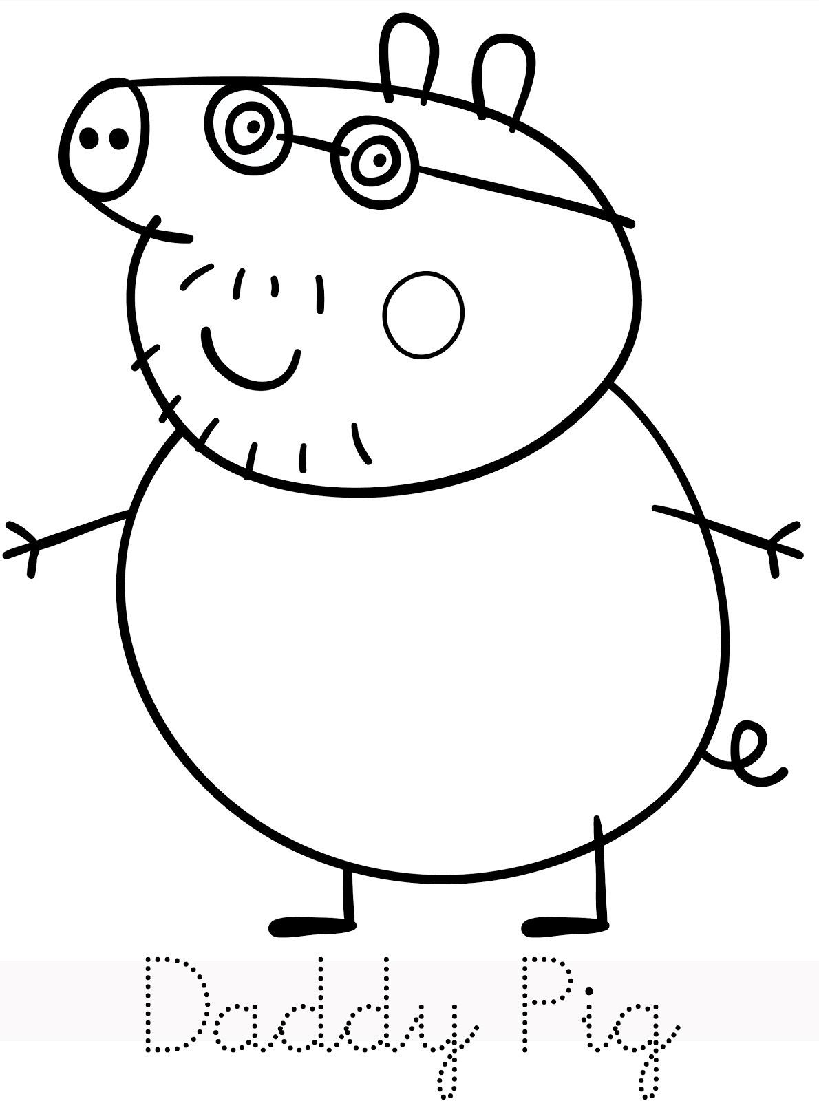 Coloriage peppa pig gratuit dessin a imprimer 119