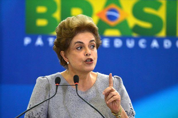 Dilma declara aguentar pressão frente à crise. Foto: José Cruz/Agência Brasil