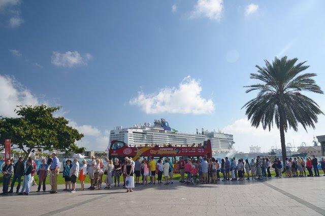 Resultado de imagen de Las Palmas de Gran Canaria espera la llegada de siete cruceros en lo que queda de enero