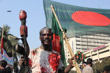 Street clashes in Bangladesh are frequent and violent