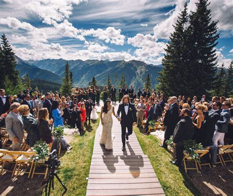 Spectacular Scenic Aspen Weddings   The Little Nell