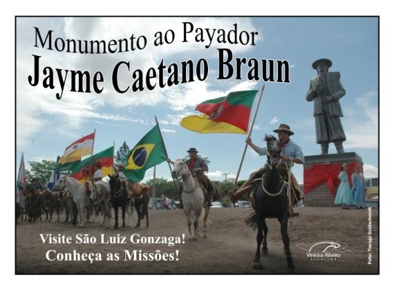 Postais Mon. ao Payador Jayme Caetano Braun- Vinícius Ribeiro (3)