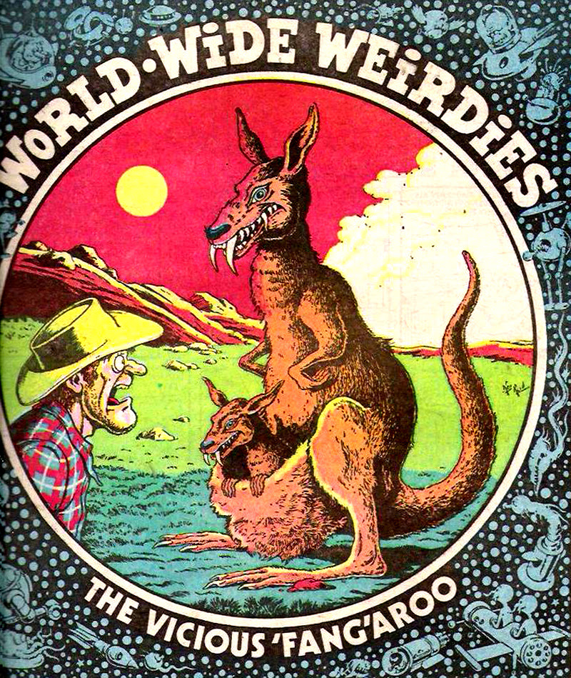 Ken Reid - World Wide Weirdies 114