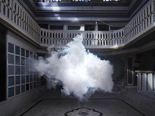 Berndnaut Smilde artwork of clouds