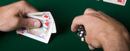Biggest poker mistake. (Jupiterimages)