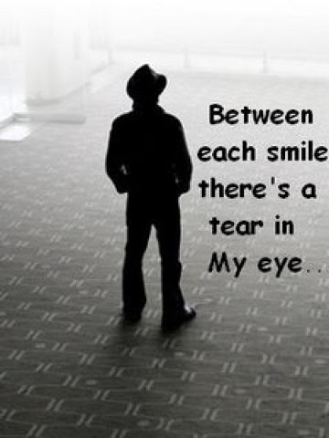 Between Each Smile Theres A Tear In My Eyemissing You Quote