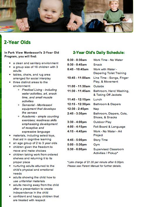 Daily Schedule For 2 Year Old At Home | Daily Planner