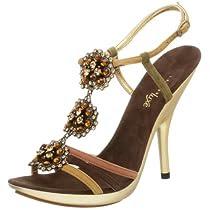 J.Renee Women's Peach Sandal