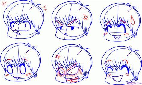 draw chibi expressions step  step chibis draw