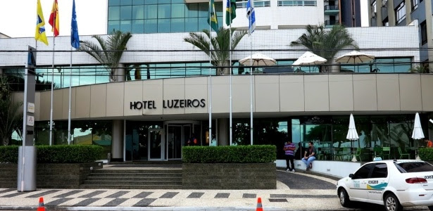 Hotel que serve de concentração para Espanha em Fortaleza foi palco de confusão na última segunda