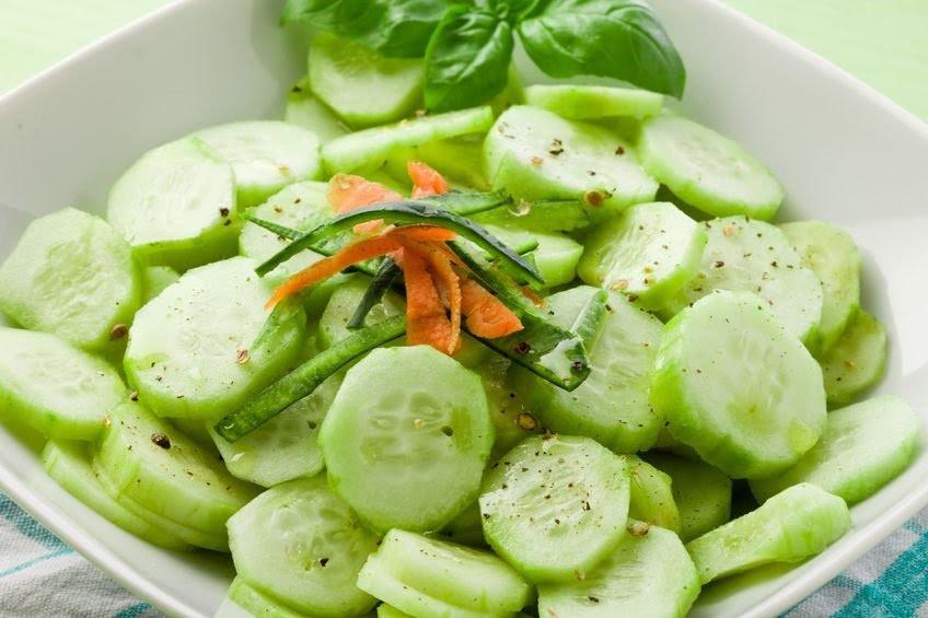 Comer pepino