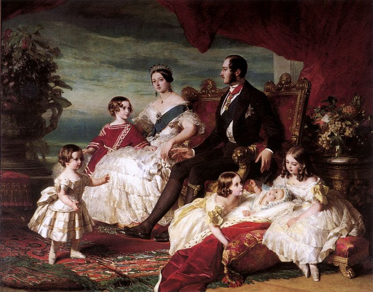 File:Queen Victoria, Prince Albert, and children by Franz Xaver Winterhalter.jpg