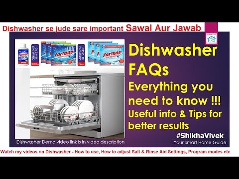 Dishwasher FAQs
