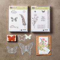 Butterfly Basics Wood-Mount Bundle by Stampin' Up!