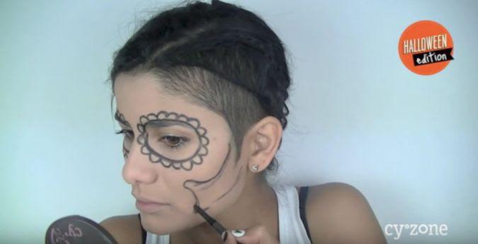 Halloween 10 Pasos Para Maquillarte Como La Catrina Video